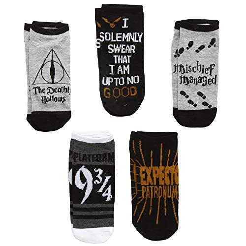 Harry Potter Socken, Heiligtümer des Todes, 5 Stück