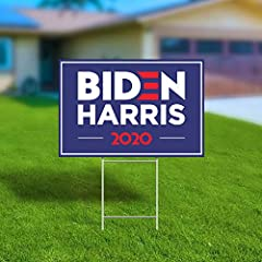 BIDEN 2020 - Joe Biden 2020 For President political sign. Decorate your yard and show support for your favorite democratic candidate Joe Biden APPEARANCE: These signs look GREAT with highly visible graphics printed in rich intense color. These unique...