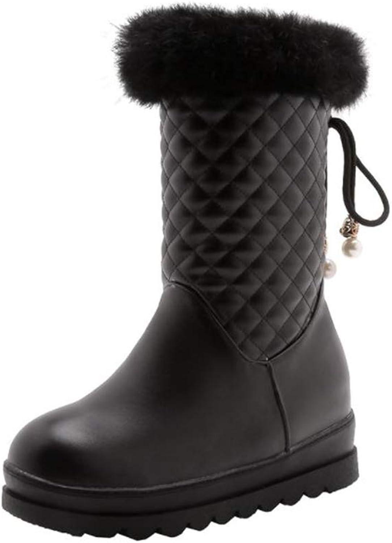 Coollight Women's Internal high Fashion Student high Boots Tide Snow Boots
