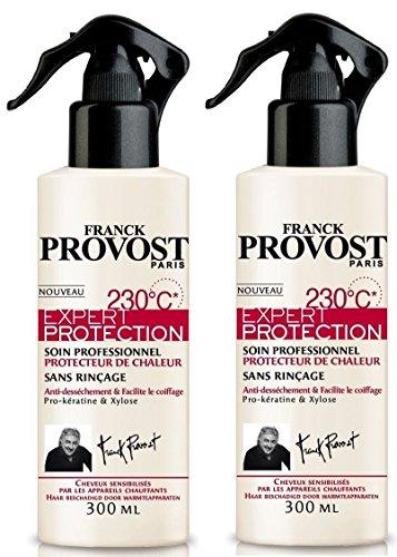 FRANCK PROVOST Expert Protection Soin Professionnel 230°C 300ml - Lot de 2