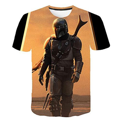 Unisex T-Shirt 3D Drucken Sommer Beiläufige Grafik Kurzen Ärmeln,Starcraft AT-20691,XXXL