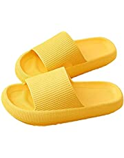 Ultra-Soft Slippers, Pillow Slides Slippers, Massage Foam Bathroom Slippers,Super Soft Home Slippers Quick-Drying Shower Slides