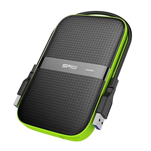 Silicon Power - Disco Duro Externo de 2 TB para PC, Mac, Xbox One, Xbox 360, PS4, PS4, PS4 Pro y PS4 Slim, Compatible con Xbox PS4 de 2,5 TB
