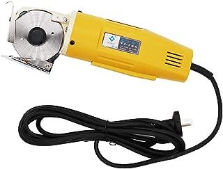 Electric Cloth Cutter 70mm Rotary Blade Fabric Cutting Machine Round Knife Cutting Machine Octagonal Knife Electric Rotary Cutter