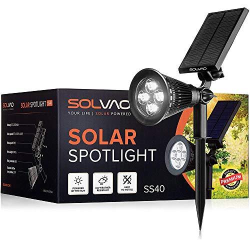 SOLVAO Solar Spotlight (Upgraded)