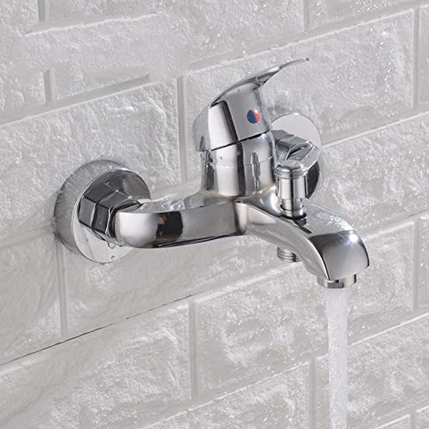 redOOY Taps Zinc Alloy Faucet Shower Faucet Bathroom Hot And Cold Mixing Valve