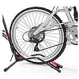 XIAOHUA-UK Multi-Función de bicicletas Aparcamiento de bicicletas Planta Percha for bicicletas Aparcamiento vertical del soporte, gancho de la pared vertical de la suspensión de la bicicleta del trípo