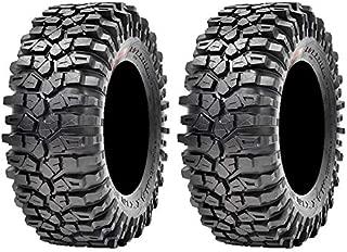 Pair of Maxxis Roxxzilla 396 Radial (8ply) ATV Tires 30x10-14 (2)