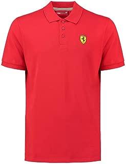 Ferrari Men's Formula 1 Authentic Men's Classic Red Polo
