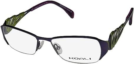 Koali By Morel 6916k Womens/Ladies Designer Half-rim European Contemporary Eyeglasses/Eyewear