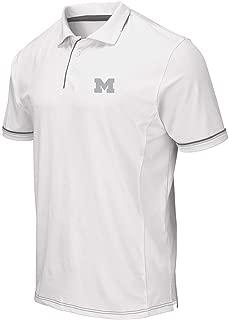 Mens Michigan Wolverines Iceland Polo Shirt