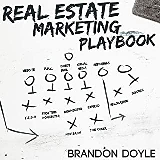 Real Estate Marketing Playbook audiobook cover art