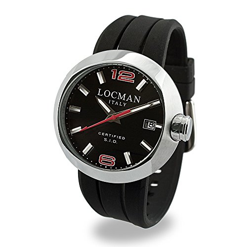 Locman Locman Italy Uomo - Reloj para hombre, color negro