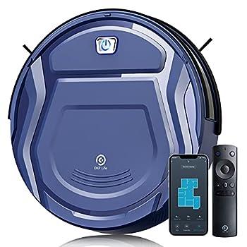 OKP Life K2 Robot Vacuum Cleaner 1800 mAh Blue