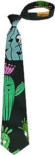 SWEET TANG Men's Tie Cartoon Donut Yellow Fashion Necktie gift