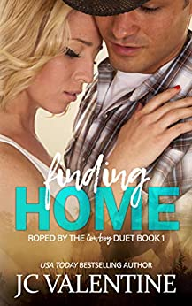 Finding Home (Roped by the Cowboy Duet Book 1) by [J.C. Valentine, M. Carroll]