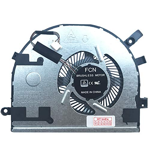 Fan Cooler Compatible with Lenovo IdeaPad 310S-14AST, 310S-14IKB, 310S-14IKB (80UY), 510S-14IKB (80UV), 510S-14ISK, 510S-14ISK (80TK), 310S-14ISK, 310S-14ISK (8ISK (8ISK 0UA), 5 10S-14IKB.