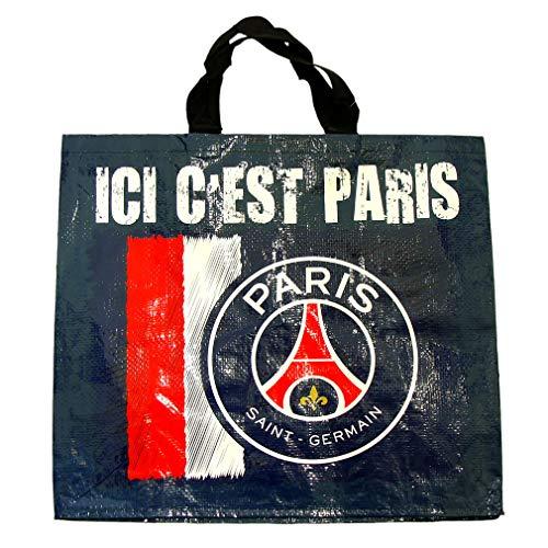 PSG - Grand Cabas Paris Saint-Germain Officiel 'Ici c'est Paris' - Bleu