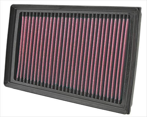 K&N 33-2944 Filtre à Air du Moteur: Haute Performance, Premium, Lavable, Filtre de Remplacement, Plus de Pouvoir, 2007-2015 (Koleos, Dualis, Qashqai, X-Trail, X-Trail I, X-Trail II)