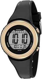 Relógio Speedo Feminino Digital Preto 81152L0EVNP1
