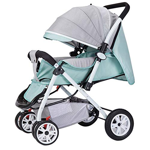 Great Features Of WANGLXST Baby Carriage for 0 to 36 Months, Multifunction Folding Buggy Can Sit/Can...