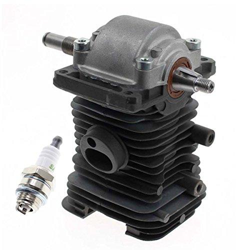 Carbhub MS180 Cylinder Piston Crankshaft for Stihl MS170 MS180 018 Chainsaw Engine Motor Cylinder Replaces 1130 020 1208, 1132 030 0402