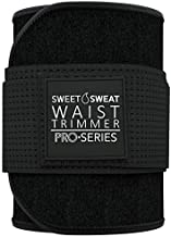Sweet Sweat 'Pro Series' Waist Trimmer (M - L, BLK/White)