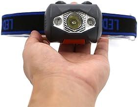 Zcm Koplampen 3 LED 800 Lumens 4 Modes Mini phare extérieur phare étanche Flash lampe frontale torche lanterne pour la cha...