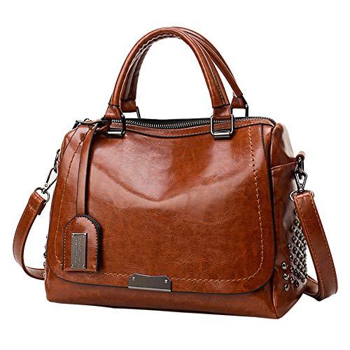 2019 Neue Welle Paket Kuriertasche Damen weiblichen Beutel Handtaschen für Frauen Handtasche Grau