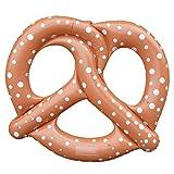 flotador en forma de pretzel