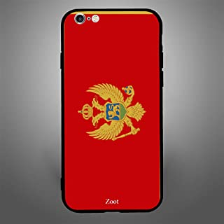 iPhone 6 Plus/ 6s Plus Case Cover Montenegro Flag, Zoot Protective Casing Modern Trendy Design Covers & Cases