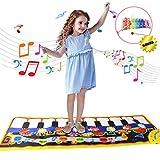Regalos para Niños Niñas 2-5 Años Joy-Fun Musical Alfombra Piano Suelo Infantil 115 x 40 CM Xilófono Alfombra Juegos Bebe Piano Musical Juguete Electrónico Regalos Cumpleaños