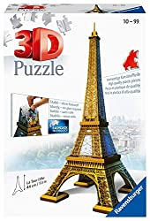 Ravensburger Eiffel Tower 216 Piece 3D Puzzle for Kids and Adult