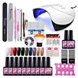 Best Gel Polish Kits - Fashion Zone 10 Colors Soak Off Gel Polish Review