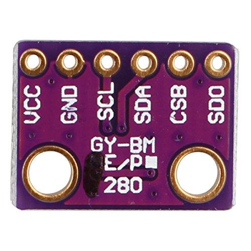 Amazon.co.uk - BME280 I2C SPI Barometric Pressure Temperature Humidity Sensor Module