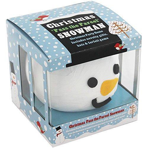 Christmas Pass The Parcel Snowman