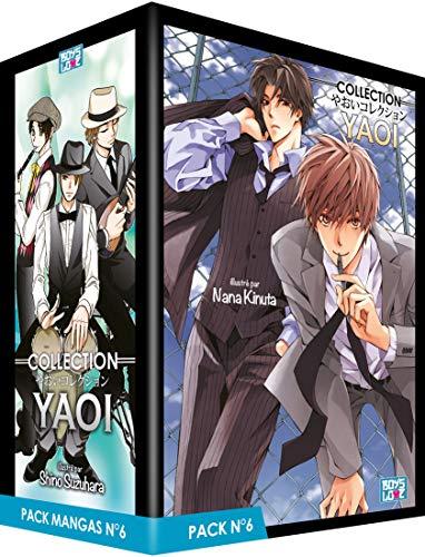 Boy's Love Collection - Pack n°6 - Manga Yaoi (5 tomes)