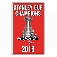 Washington 2018 Stanley Cup Champions 3'x5' Flag Capitals Champs Championship Gifts Garden Flags The Same Hanging Verizon Center for Youth Mens Kids Banner