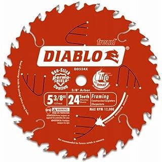 Diablo D0524X Rim Saw Blade