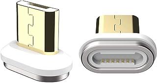 Cabo de carregamento magnético SIKAI 11GEN cabo carregador magnético 3A Max Micro USB compatível com Samsung S7/S6 Edge, K...