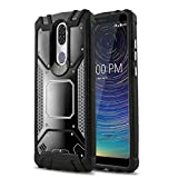 CasemartUSA Phone Case for [Coolpad Legacy], [Alloy Series][Black] Aluminum Metal Plate [Military Grade] Shockproof Impact Resistant Cover for Coolpad Legacy (Metro, T-Mobile, Boost Mobile)