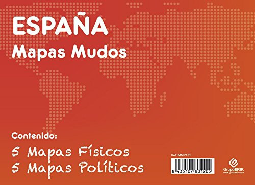 GRUPO ERIK EDITORES, S.L. - Pack mapas mudos