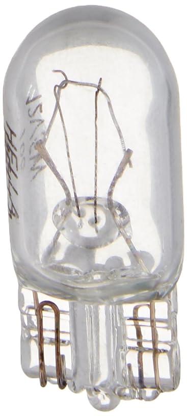 HELLA 168TB Twin Blister Standard Miniature 168 Bulbs, 12V, 5W, 2 Pack