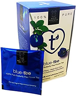 Wild Hibiscus Blue-Tee 100% Pure Butterfly Pea Flower Tea - 1.1 oz