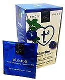 Blue Tee - blauer Tee 100% Butterfly Pea Flower Tea 20 Teebeutel, (1er Pack 1,5 g)