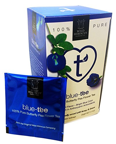 Wild Hibiscus Blue-Tee 100% Pure Butterfly Pea Flower Tea - 1.1 oz