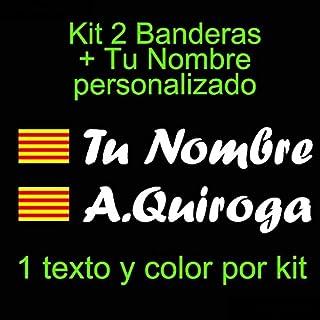 Amazon.es: Bandera de Cataluña - Calcomanías y pegatinas / Productos para aficionados: Coche y moto