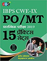 IBPS CWE-IX PO/MT PRE-EXAM:- 15 PRACTICE SETS INCLUDING PREVIOUS YEAR SOLVED PAPER IN HINDI