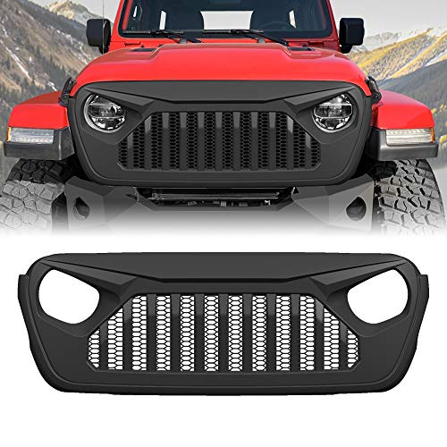Black Cowl Body Armor Side Guards for 2018 2019 2020 Jeep Wrangler JL JLU Rubicon Sahara Unlimited and 2020 Jeep Gladiator JT