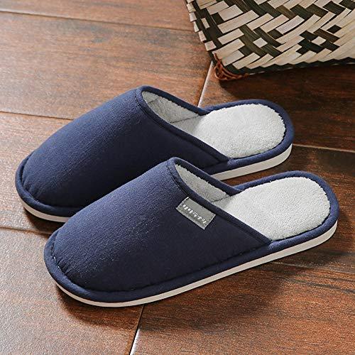Nwarmsouth Zapatos de Interior para Exteriores transpirab,Calzado de algodón Interior de Invierno,...